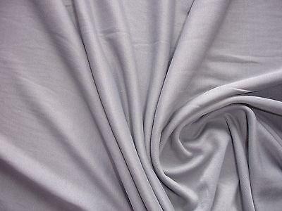 1  Lfm Jersey 3,55€/m²  Schlauchstoff Micromodal angel grey YA36
