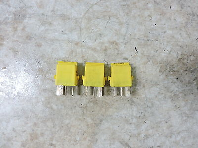 13 BMW C 600 C600 Sport Scooter yellow electrical relays relay set