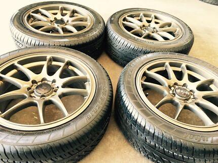 16 inch rims&tyres 4x100 4x114.3