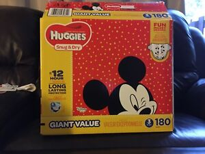 Size 3 huggies diapers