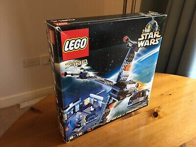 Star Wars Lego 7180: B-wing at Rebel Control Center 100% Complete & Boxed