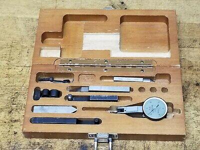 Brown Sharpe No 7030-3 Dial Indicator Gauge Set .0005