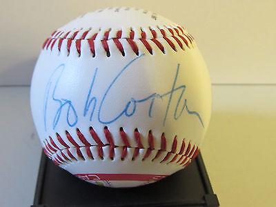 Bob Costas Autographed 1997 Stl Cardinals Opening Day Commemorative Baseball Sgc