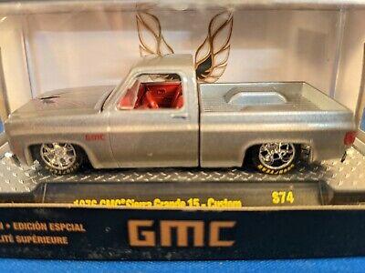1976 GMC SIERRA GRANDE 15 SQUARE BODY PICKUP TRUCK RED 1//64 CAR M2 31500-MJS12