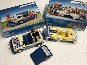 Playmobil Race Cars and Accessories