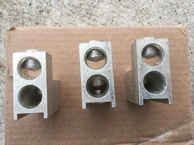 Eaton Westinghouse Ta400k New Terminal Lugs See Pics 2-30--250 A12 All 3 Pcs