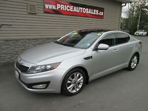 2013 Kia Optima EX - HEATED LEATHER - SUNROOF - BACK-UP CAM!!!