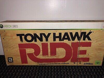 Xbox 360 TONY HAWK RIDE GAME & WIRELESS SKATEBOARD CONTROLLER - BRAND NEW