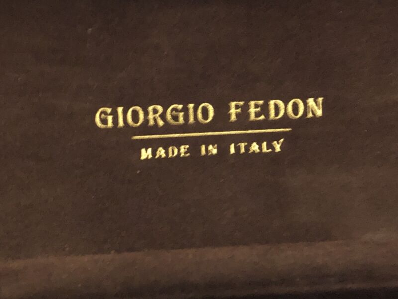 Vintage  Authentic Case for Giorgio Fedon Sunglasses Made in Italy