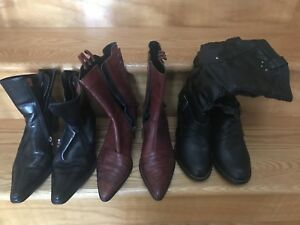 Harley Davidson women's size 6.5 boots.  Genuine Leather HD