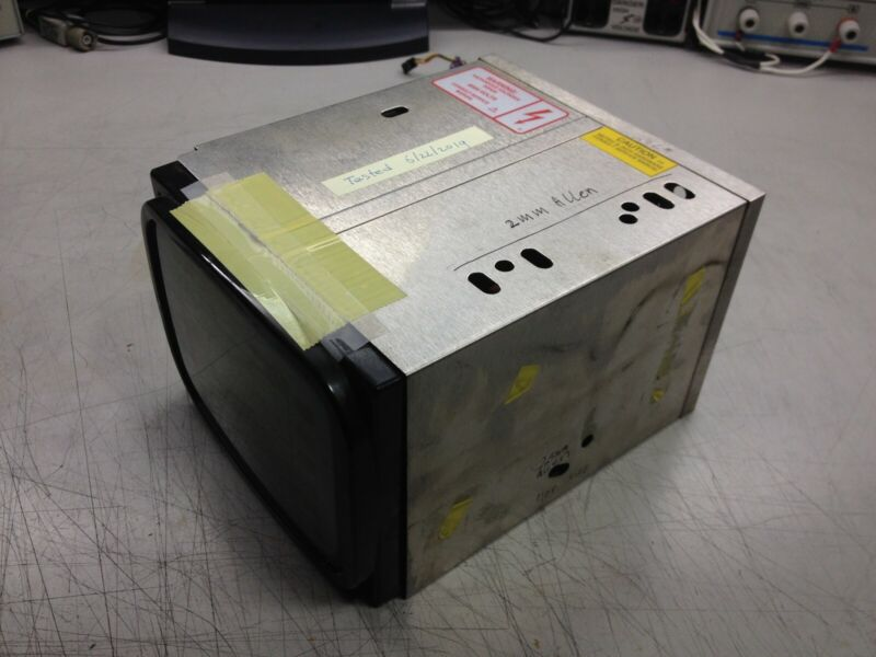 HP/Agilent 8590 CRT Display unit, tested, 8591,8592,8593,8594,8595,8596