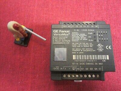 Ge Fanuc Ic200ndr010 Versamax Nano Controller