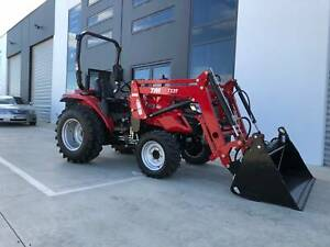 TYM T413 Tractor with FEL, HST - Hydrostatic Trans - Yanmar Engine Pakenham Cardinia Area Preview