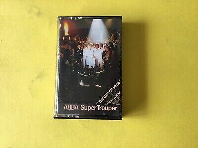 ABBA SUPER TROUPER CASSETTE TAPE