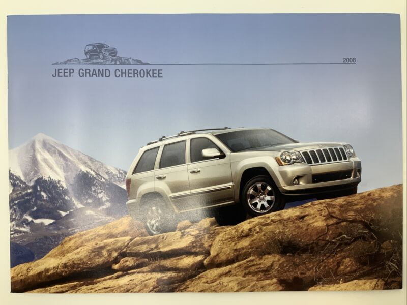 2008 Jeep Grand Cherokee Brochure