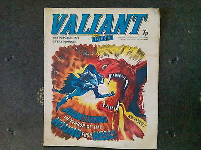 VALIANT AND VULCAN COMIC DATED 2 OCTOBER 1976