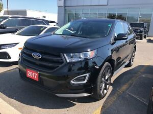 2017 Ford Edge SPORT| COOL SEATS| BLIS|PANO|CLEAN HISTORY