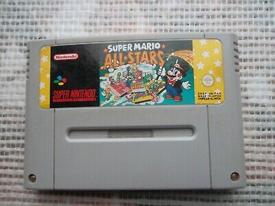 Jeu Super Nintendo / Snes game Super Mario all Stars PAL FAH original * save ok