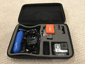 Go Pro Hero 4 Silver with carrying case and tons of accessories