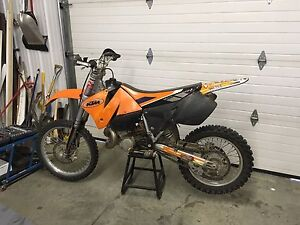 Ktm 250 exc two stroke TRADE