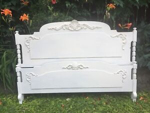 Vintage Queen sized French country bed