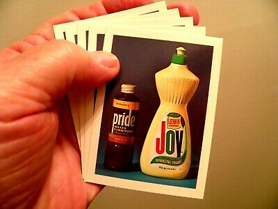 Set of 5 REAL Pride & Joy© Cards for Pranks, Gags, Jokes and Tricks -