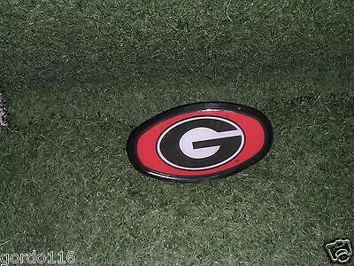 Ncaa Georgia Bulldogs Hitch Cover - Georgia Bulldogs Plastic Dome Hitch Cover NEW NCAA Fits 2'' Hitches tow cap
