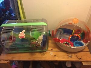 Plastic hamsters cages NEW PRICE!