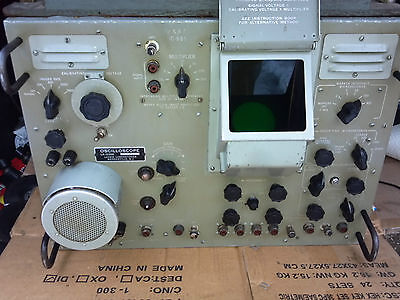 Usaf Military Oscilloscope Model La-239a Lavoie Labs Probes Leads Korean War
