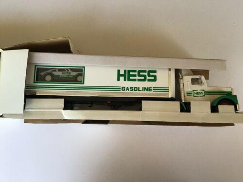 1992 Hess Truck 18 Wheeler With Racer NIB