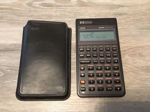 HP-42S Programmable Scientific Calculator w/ Case