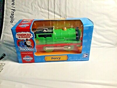 Thomas and Friends- Trackmaster- Motorized - Percy - Sealed- 2008 - Package Wear