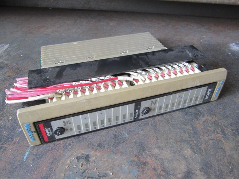 Gould B804 Modicon 115VAC Output Module Control