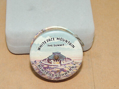 White Face Mountain Summit Memorial Hghwy NY push button Tape Measure  - White Face Memorial