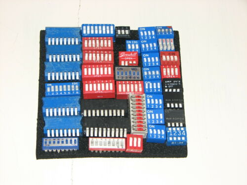 35+ Pcs 3 4 6 8 10 Position Pin DIP Switches