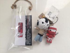 Voodoo Palace Baby Samurai Doll / Key Chain - NEW