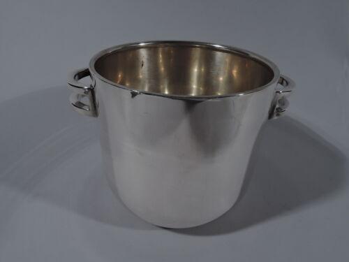 Tiffany Ice Bucket - Modern Classical Urn Barware - Italian Sterling Silver