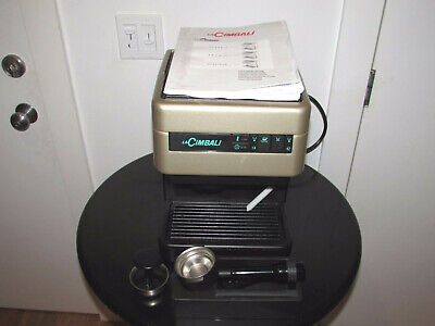 Cimbali Domus Classic Espresso Machine Coffee Cappuccino Tea Works Perfect Gold