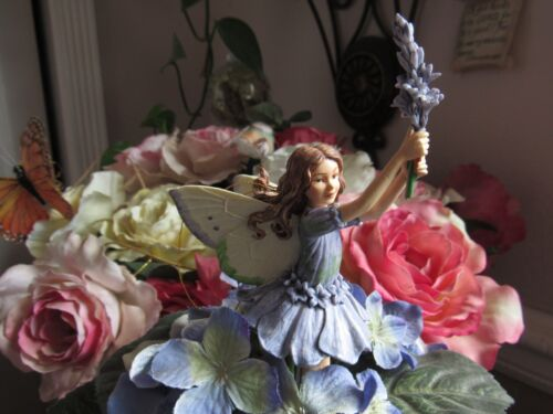 Cicely Mary Barker LAVENDER Flower Fairy Ornament Figurine RETIRED!  #86906