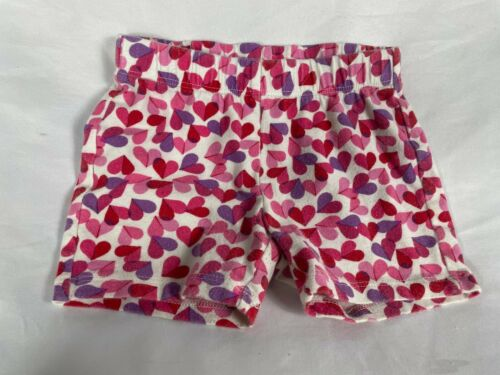 Girls Gap Kids Shorts covered With Hearts   Size XS