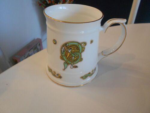 "tara (royal) fine bone china mug vg++ condition 4 1/4"" high galway/ireland"
