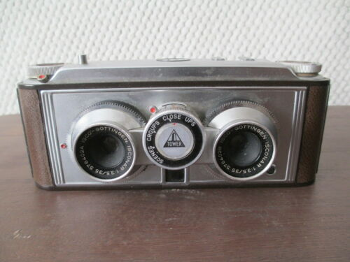 Vintage Tower 35MM Stereo Camera Made in Germany