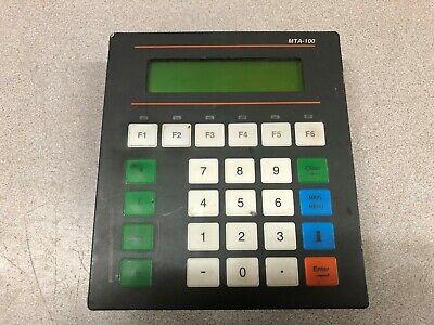 Used Mitsubishi Beijer 5 Vdc Operator Interface Mta-100
