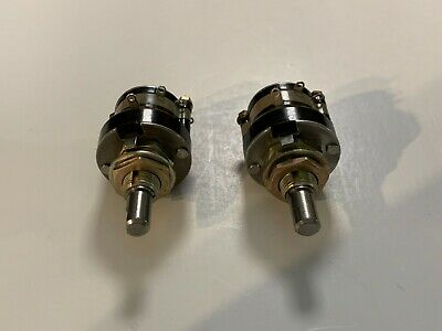 Two Grayhill 7 Position Rotary Selector Switches 14 Inch Shaft New