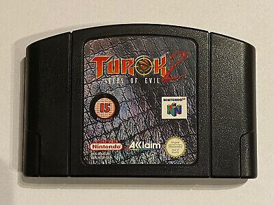 Nintendo N64 - Turok 2: Seeds of Evil - N64 Cart - Classic Game!