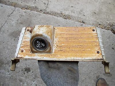 Farmall 560 Diesel Tractor Ih Bottom White Dash Panel Glow Plug Gauge Holder