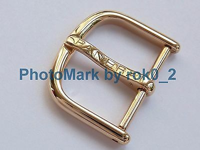 OFFICINE PANERAI 18K Solid POLISH YELLOW GOLD 20mm TANG BUCKLE Clasp EXCELLENT!!