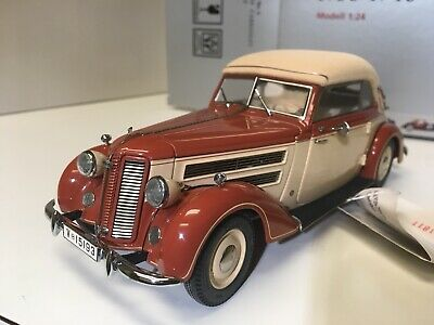 1938 Audi 920 Cabriolet  1/24 scale diecast model car by CMC