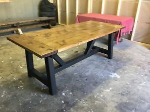 X Farmhouse table