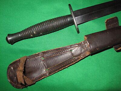 British WW2 B2 Arrow Fairbairn-Sykes Fighting Knife Dagger